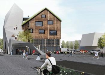 Consto bygger Norges høyeste klatretårn|Oppdal Innovasjonssenter