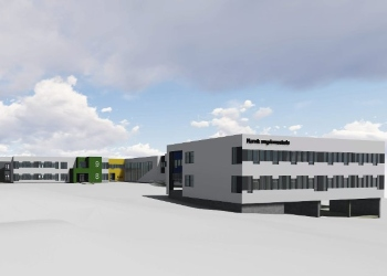 Narvik Nye Ungdomsskole - Voll Arkitekter
