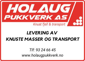 Holaug Pukkverk AS | Alt av masse og transport