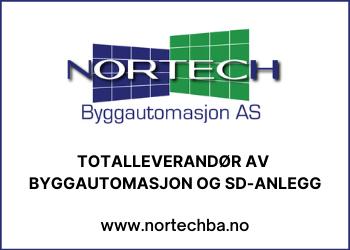 NORTECH BYGGAUTOMASJON AS Totalleverandør av byggautomasjon og SD-anlegg
