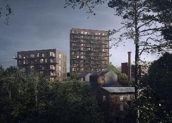 AF bygger leiligheter og townhouse for Fredensborg bolig