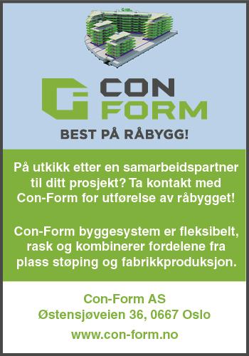 Con Form - Best på råbygg