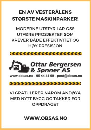 Ottar Bergersen & Sønner AS|Vesterålens største maskinentreprenører