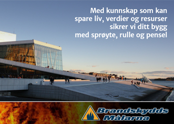 Brandskyddsmålarna|Norsk byggebransje