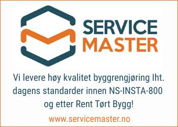 Service Master leverer bredt spekter av kundetilpassende servicetjenester