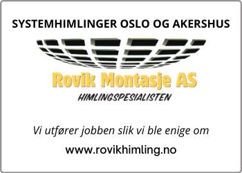SYSTEMHIMLINGER I OSLO OG AKERSHUS