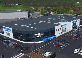 Biltema bygger nytt på Namsos|Norske Byggeprosjekter