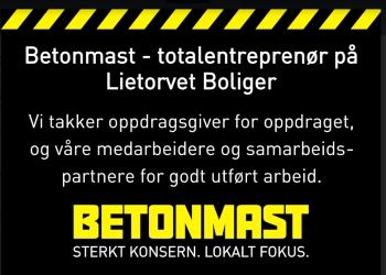 Betonmast - En av Norges største byggentreprenører