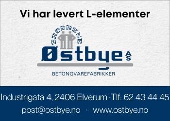 Brødrene Østbye produserer og forhandler betongvarer til bedrifter, private og offentlig sektor.