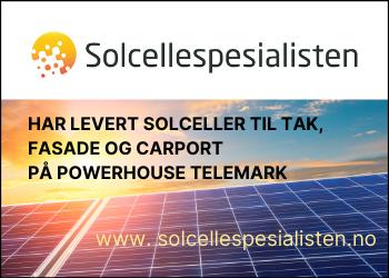 Solcellespesialisten - Powerhouse Telemark