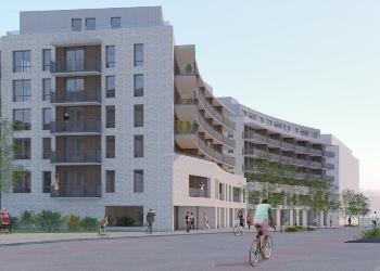 Selmer Eiendom og AF Gruppen bygger leiligheter på Ensjø i Oslo
