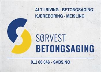 Sørvest Betongsaging AS - Norske Byggherrer