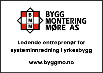 Byggmontering Møre AS er en ledende entreprenør for systeminnredninger i næringsbygg og andre offentlige bygg i Møre og Romsdal.