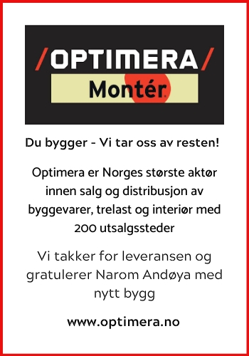 Monter Andenes|Norges største byggvarekjede