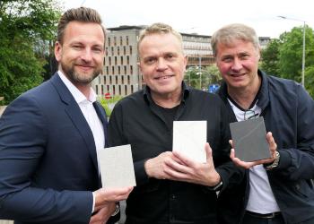 Modum Glassindustri samarbeid med Schüco Norge og Cosentino Norway AS.