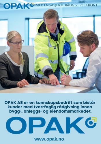 OPAK er en kunnskapsbedrift. Vi yter tverrfaglig rådgivning med høy kompetanse til bygg-, anleggs- og eiendomsmarkedene.