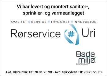 BADEMILJØ RØRSERVICEURI AS AVD ULSTEINVIK