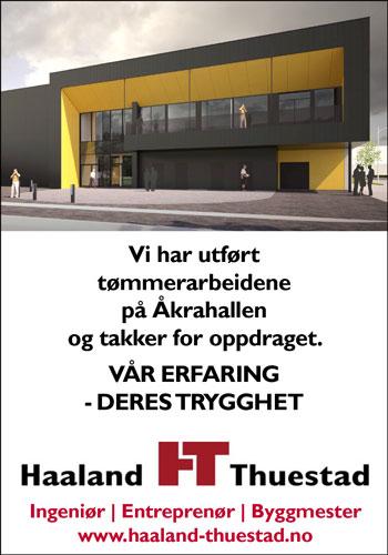 Haaland & Thuestad  AS er et entreprenørfirma med 50 ansatte som er lokalisert i Kopervik på Karmøy.