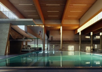 Verdens første energipositive bade- og idrettsanlegg