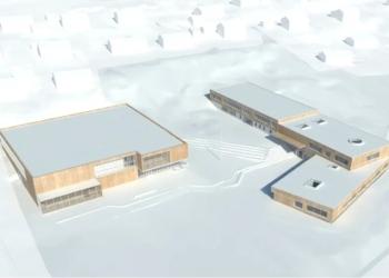 Peab Bjørn Bygg skal bygge Evenes skole og flerbrukshall