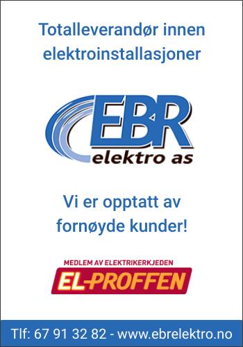 EBR elektro AS er totalleverandør innen elektroinstallasjoner