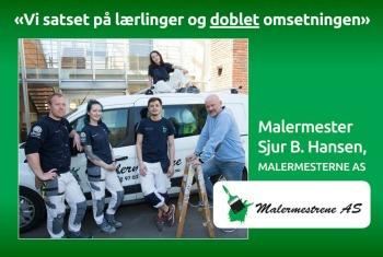 Malermester Sjur. B Hansen|annonsering Norsk byggebransje