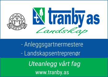 Tranby as er et anleggsgartnermester- og landskapsentreprenørfirma