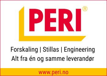 PERI Norge AS ble startet i 1993 og er i dag Norges ledende leverandør av forskalingssystemer,