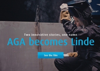 AGA endrer navn til Linde