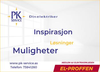 PK SERVICE AS - Din Elektriker Trondheim
