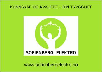 Sofienberg elektro - Kunnskap og kvalitet - Din sikkerhet