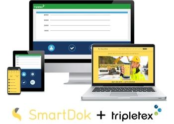 Integrasjon mellom SmartDok og Tripletex