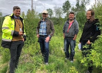 Norges første bærekraftsertifiserte boligfelt