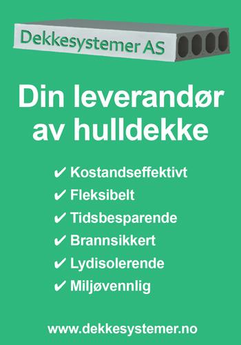 Dekkesystemer AS - Din leverandør av hulldekke|Norske Byggeprosjekter