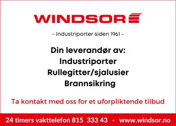 Windsor Norge - Landsdekkende portleverandør!