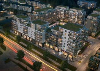 295 nye miljøsertifiserte leiligheter MIDT i Lørenskog